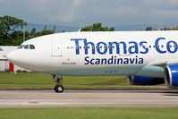 OY-VKF @ EGCC - Thomas Cook Airlines Scandinavia - by Chris Hall