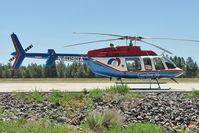N409GA @ FLG - 2007 Bell Helicopter Textron Canada 407, c/n: 53790 at Flagstaff AZ