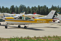 N34161 @ FLG - 1976 Cessna 177RG, c/n: 177RG0976 at Flagstaff Az