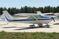 N6241H @ FLG - 1981 Cessna 182R, c/n: 18267877 at Flagstaff AZ