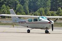 N761EA @ FLG - 1977 Cessna T210M, c/n: 21062187 at Flagstaff AZ
