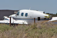 N730PT @ 40G - Unidentifed dismantled or wreck aircraft at Valle Airport AZ  - anyone help with more info ?