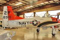N393W @ 40G - 1954 North American T-28B, c/n: 138310 at Planes of Fame VALLE , AZ - by Terry Fletcher