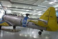 N85JR @ KPSP - North American AT-6G Texan at the Palm Springs Air Museum, Palm Springs CA