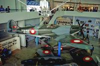 41-401 @ EKBI - Spitfire MK IXe at Mobilium Museum Billund Denmark 2.6.90 - by leo larsen