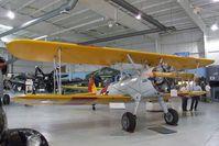 N63555 @ KPSP - Boeing (Stearman) A75N1 (PT-17) at the Palm Springs Air Museum, Palm Springs CA