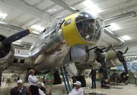 N3509G @ KPSP - Boeing B-17G Flying Fortress at the Palm Springs Air Museum, Palm Springs CA