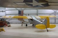 N28118 @ KPSP - Piper J3L-65 Cub, being restored at the Palm Springs Air Museum, Palm Springs CA