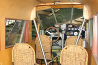 N4942V @ 40G - Interior of 1954 Curtiss Wright TRAVEL AIR A-6000-A, c/n: 1040 at Valle , AZ