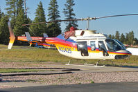 N22425 @ GCN - 1982 Bell Helicopter Textron 206L-1, c/n: 45743at Grand Canyon