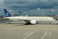 HZ-AKE @ EGLL - 1997 Boeing 777-268 (ER), c/n: 28348 at Heathrow