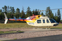 N10761 @ GCN - 1980 Bell Helicopter Textron 206L-1, c/n: 45381