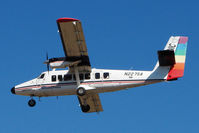 N227SA @ GCN - 1976 Dehavilland DHC-6 TWIN OTTER, c/n: 517 arriving at Grand Canyon