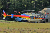 N407BH @ GCN - 2002 Bell 407, c/n: 53522 at Grand Canyon