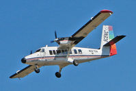N227SA @ GCN - 1976 Dehavilland DHC-6 TWIN OTTER, c/n: 517 on approach to Grand Canyon