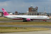 N845MH @ EGLL - Delta's 2002 Boeing 767-432ER, c/n: 29719