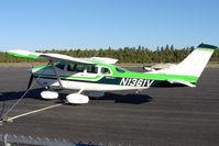 N1361V @ GCN - 1974 Cessna U206F, c/n: U20602584