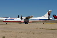 N4AE @ IGM - 1991 ATR 72-212, c/n: 244 stored at Kingman
