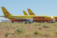 N365DH @ IGM - 1981 Airbus A300 B4-203, c/n: 149 of DHL stored at Kingman