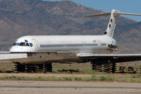 N507PT @ IGM - Mcdonnell Douglas DC-9-81(MD-81), c/n: 49463 WFU at Kingman
