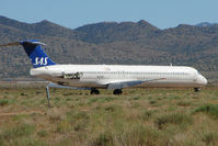 N427NV @ IGM - Ex SAS Mcdonnell Douglas Corp DC-9-82, c/n: 49436 stored at Kingman