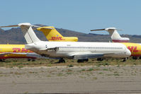 N522PT @ IGM - Mcdonnell Douglas DC-9-81(MD-81), c/n: 49821 stored at Kingman