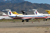 N703MR @ IGM - 1999 Embraer EMB-135LR, c/n: 145173 stored at Kingman