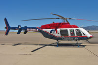 N408GA @ IGM - 1999 Bell 407, c/n: 53392 at Kingman
