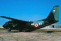 MM62136 @ LMML - G222 MM62136/49-97 Italian Air Force - by raymond