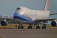 B-18702 @ ELLX - B-18702 _Boeing 747-409F - by Jerzy Maciaszek