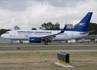 LV-CBT @ SABE - Landing on RWY 13. - by Jorge Molina