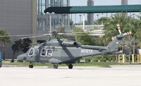 N212YS - Military prototype AW139 at Heliexpo Orlando - by Florida Metal