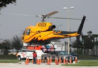 N350CK - AS350 at Heliexpo Orlando - by Florida Metal