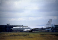 553134 @ EGQS - NKC-135A of the US Navy's Fleet Electronic Warfare Support Group [FEWSG] active at RAF Lossiemouth during Exercise Ocean Venture in August 1981. - by Peter Nicholson
