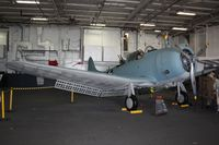 54605 @ CV41 - Douglas SBD-6 Dauntless - by Timothy Aanerud