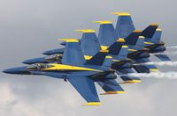 161969 @ NIP - Blue Angels F-18A - by Florida Metal