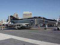153030 @ CV41 - McDonnell F-4N Phantom II, c/n: 1557 - by Timothy Aanerud