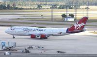 G-VTOP @ MCO - Virgin 747-400