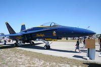 161948 @ TIX - Blue Angels F-18 - belonging to Valiant Air Museum