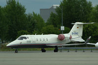 D-CFAZ @ LOWW - Learjet 55 - by Thomas Ranner