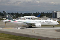 3C-LLS @ PAE - Lining up for delivery flight to Hamburg for retrofit - by Duncan Kirk