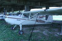 N3559V @ F69 - 1948 Cessna 140, c/n: 14834 - by Timothy Aanerud