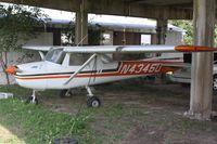 N4346U @ F69 - 1964 Cessna 150D, c/n: 15060346 - by Timothy Aanerud