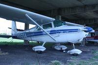 N6605A @ F69 - 1956 Cessna 172, c/n: 28705 - by Timothy Aanerud
