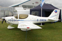 G-SMDH @ EGBK - Exibited in Static Display at 2011 AeroExpo held at Sywell UK