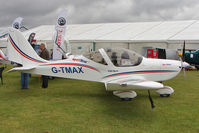 G-TMAX @ EGBK - Exibited at 2011 AeroExpo at Sywell - by Terry Fletcher