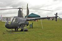 G-LIPE @ EGBK - 1991 Robinson Helicopter Co Inc ROBINSON R22 BETA, c/n: 1882 exhibited at 2011 AeroExpo