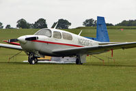 N220FC @ EGBK - 1993 Mooney M20J, c/n: 24-3282 visitor to AeroExpo 2011 at Sywell