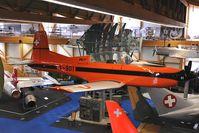 A-901 @ LSMD - Swiss Air Force Pilatus PC 7 Dübendorf Flieger Flab Museum - by Dietmar Schreiber - VAP