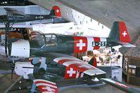 A-251 @ LSMD - Swiss Air Force Bücker 181 - by Dietmar Schreiber - VAP